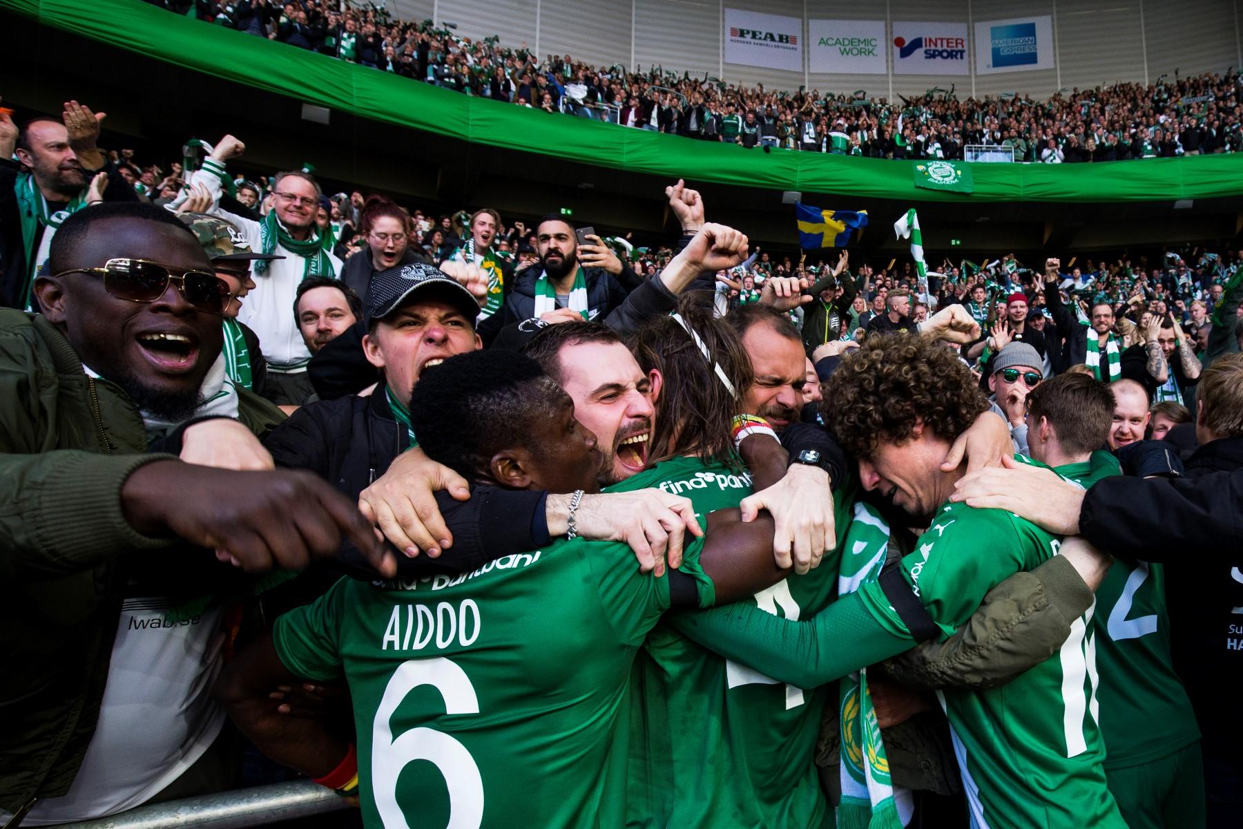 Fotboll, Allsvenskan, Hammarby - Kalmar