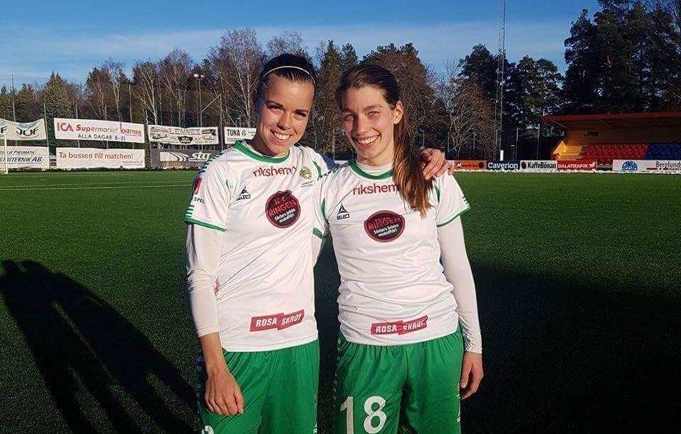11 mars, Kvarnsveden-HIF 0-1 Efter förlusten i Närke, gick det bättre mot nästa seriekollega, som betvingades med samma siffror. Amanda Johansson spelade fram inhoppande Sund gjorde matchens enda mål i 68:e minuten. (Söderbönorna)