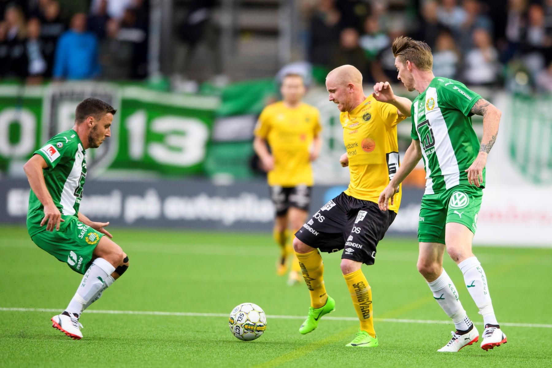 Fotboll, Allsvenskan, Elfsborg - Hammarby