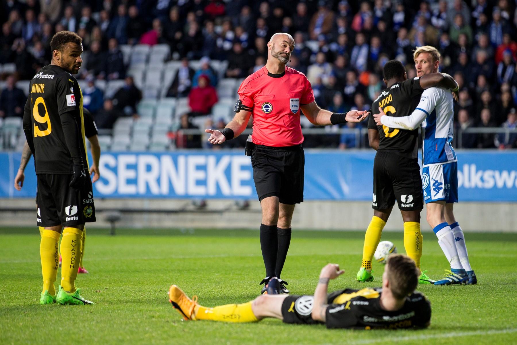 Fotboll, Allsvenskan, IFK Gšteborg - Hammarby