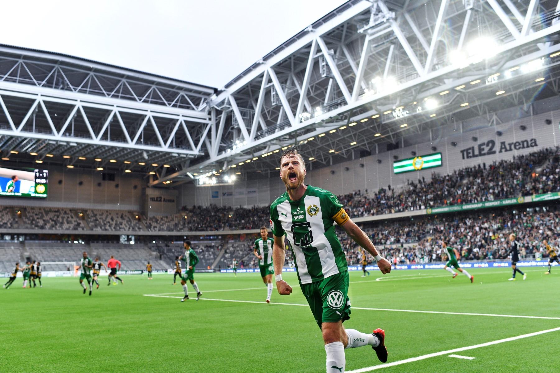 Fotboll, Allsvenskan, Hammarby - HŠcken