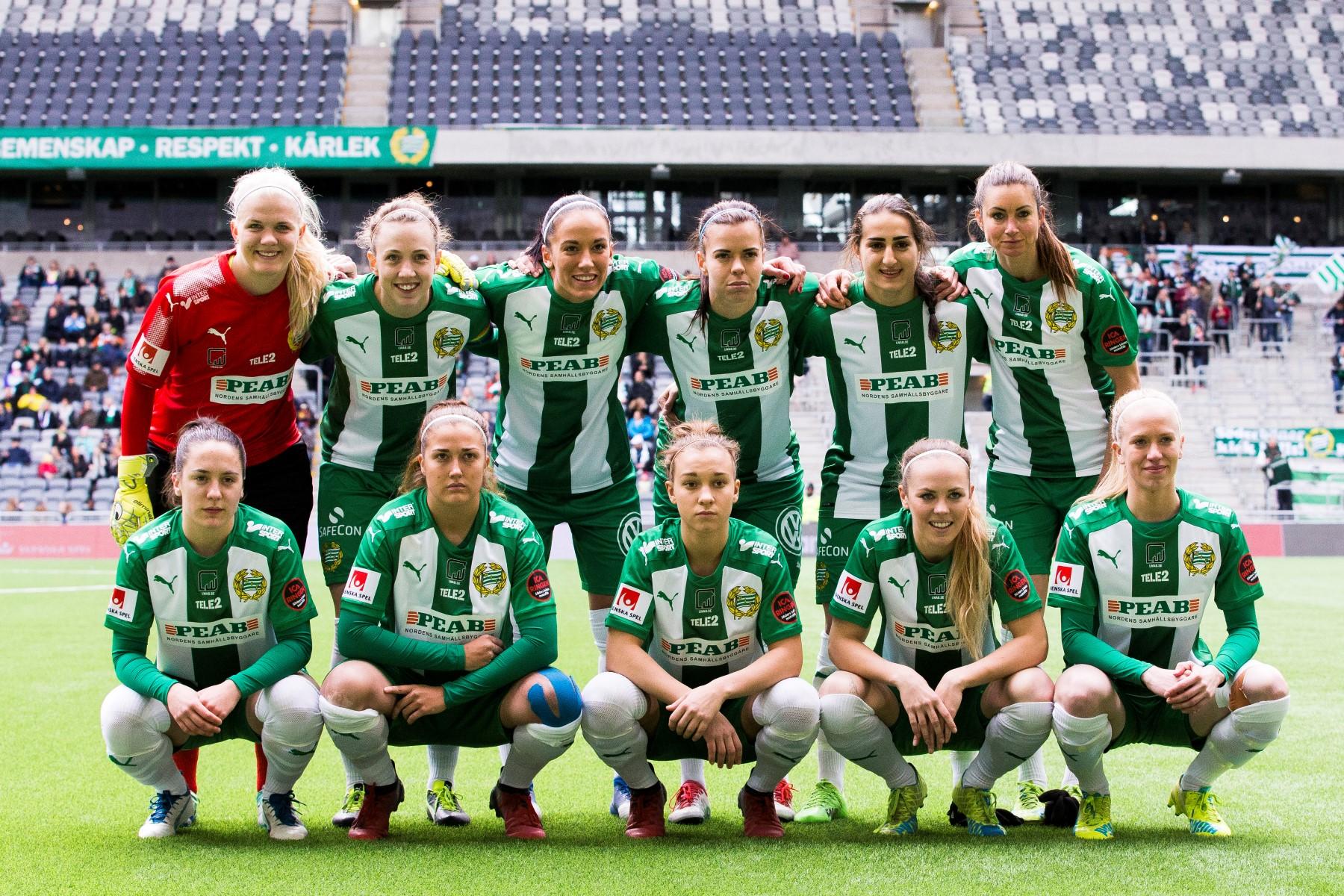 22 april, HIF-Linköping 1-3 LFC skulle försvara sitt SM-guld från fjolåret, och i Bajens hemmapremiär på Tele2 Arena fick 683 se gästerna gå till pausledning, dock bara med ett mål trots 11-2 i avslut. Strax efter paus gjorde Marija Banusic sitt andra mål, och strax därpå reducerade Zigiotti, men närmre kom inte HIF och ett självmål på kontring i 93:e avgjorde definitivt.