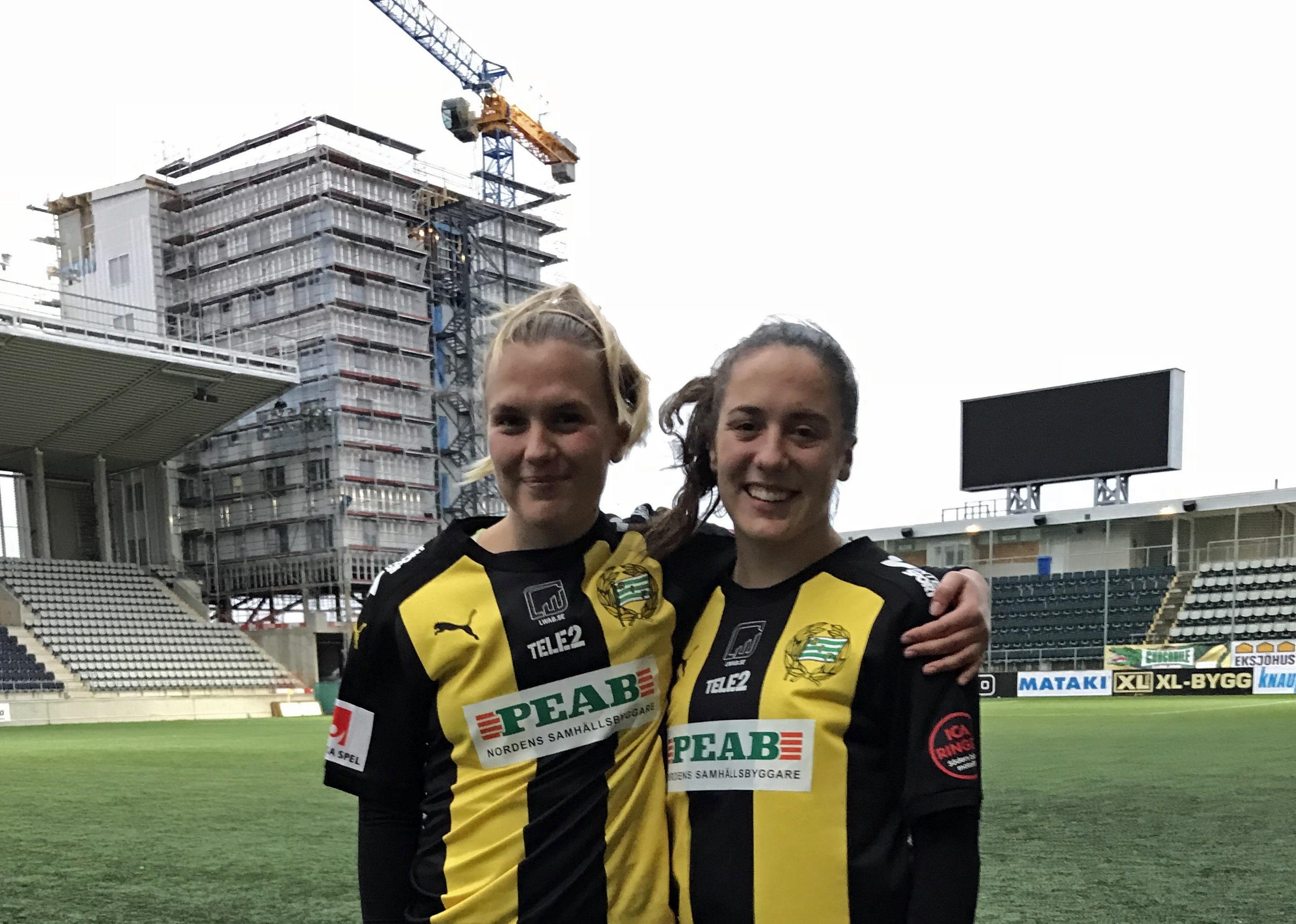 8 oktober, Linköping-HIF 2-2 SVT satsade på den allsvenska toppstriden; LFC-hemmamötet med Söderbönorna. Inför hundratusentals tittare visade istället Bajen upp sig från sin bästa sida, och räddade den fortsatta tv-spänningen, mot de blivande och försvarande mästarna. Frida Sjöberg valde ett skapligt tillfälle för årets första balja, ett välplacerad distansskott. Och trots att de Champions League-upptagna östgötarna tidigt bytte in det tunga gardet, med Kosovare Asllani i spetsen, fick HIF sista ordet. Alma Nygren blev nästa tonåriga succéinhoppare – när hon släckte jumbotronen och räddade tigerrandig poäng i 93:e. (hammarbyfotboll.se)