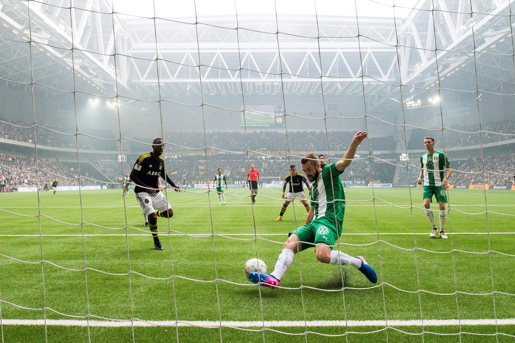 Fotboll, Allsvenskan, Hammarby - AIK