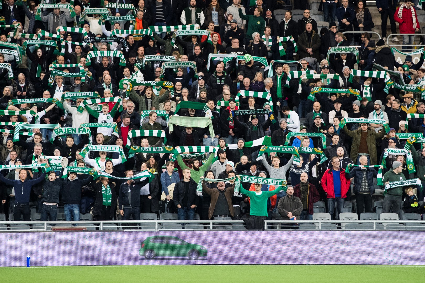 Fotboll, Träningsmatch, Hammarby - HJK Helsingfors