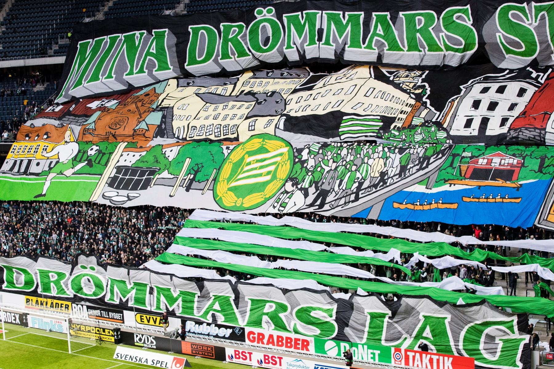 Fotboll, Allsvenskan, AIK - Hammarby