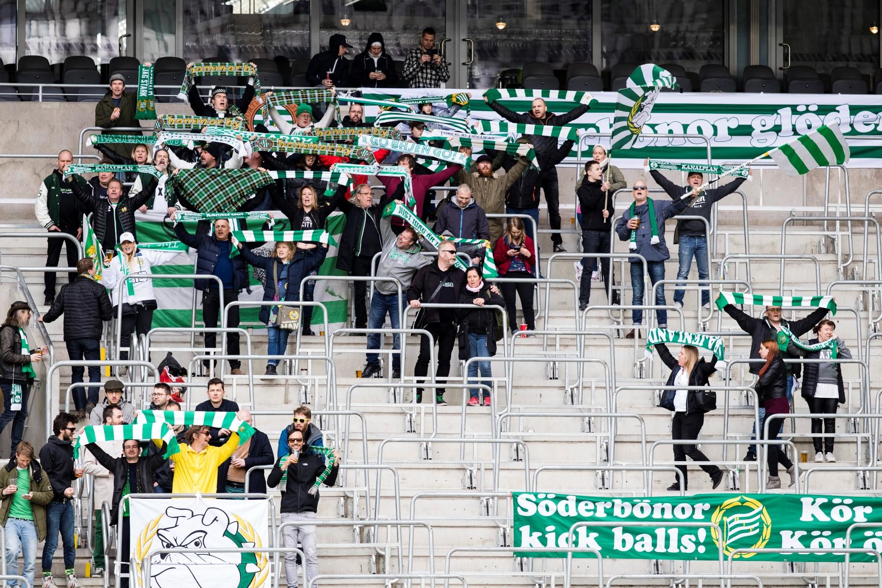 Fotboll, Damallsvenskan, Hammarby - Linköping