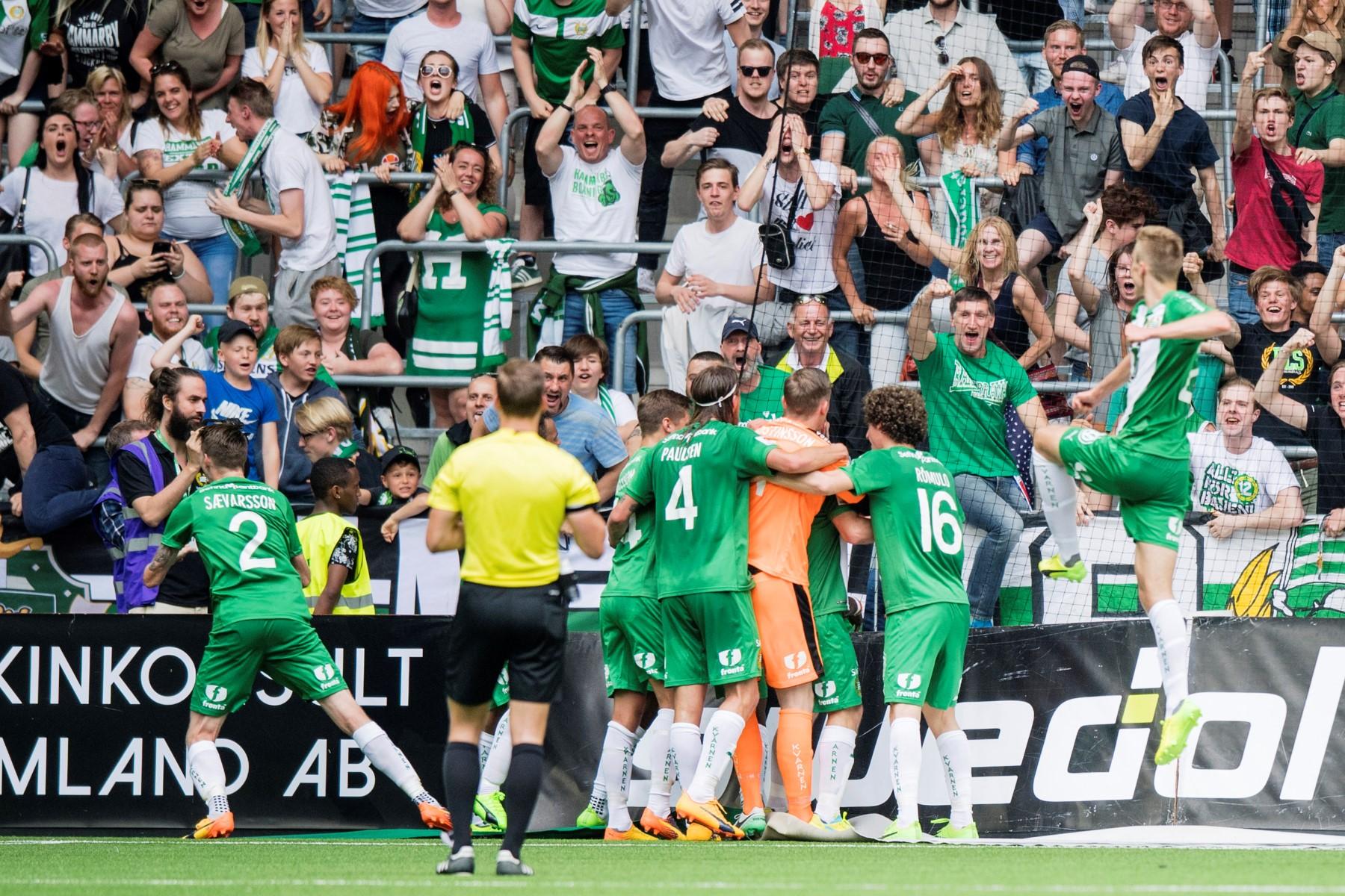 Fotboll, Allsvenskan, Hammarby - Jönköping