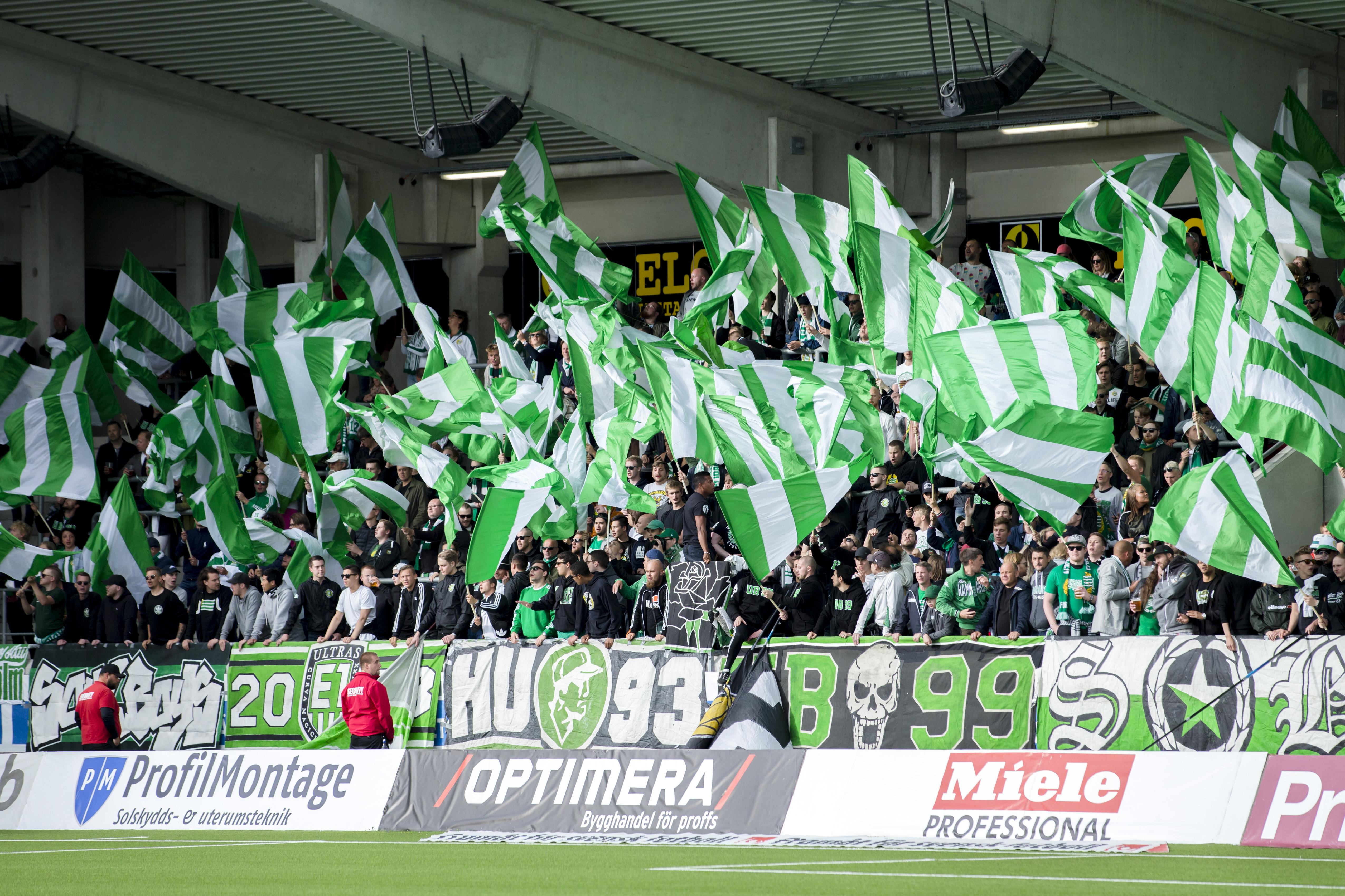 Fotboll, Allsvenskan, Häcken - Hammarby