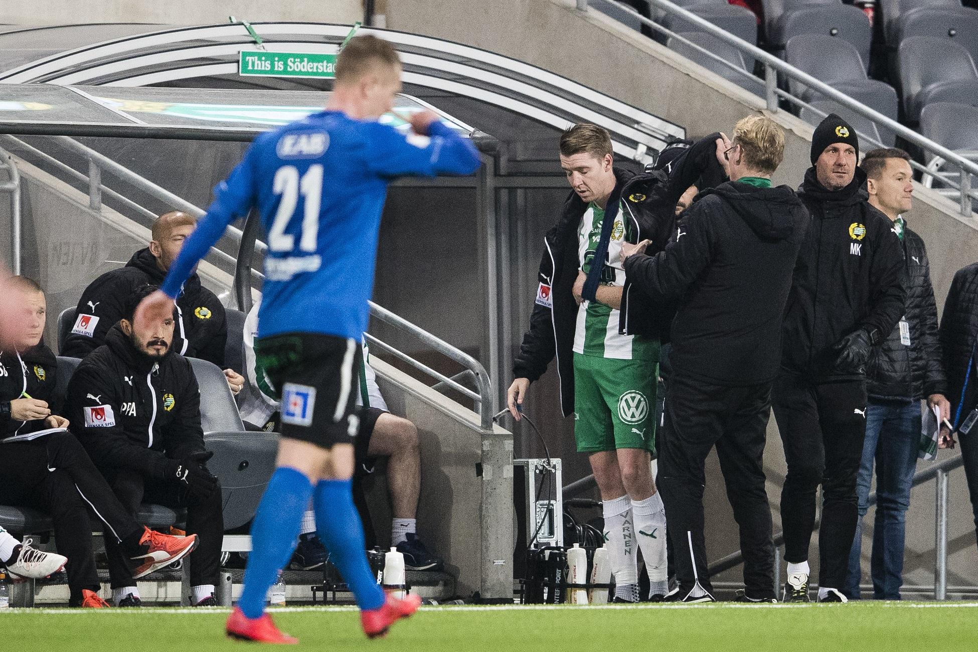 Fotboll, Allsvenskan, Hammarby - Halmstad