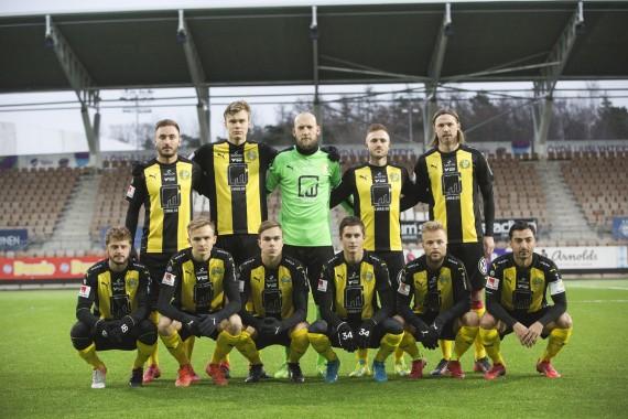 20180113 - HJK vs Hammarby3 - 4