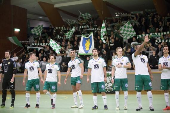 20171203 - Hammarby Futsal vs Djurgården  3 - 4