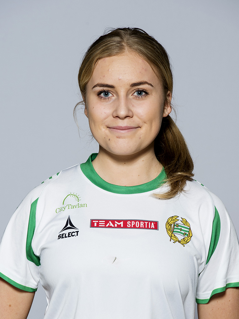 140317 Damfotbollsspelaren Ellen Gibson, Hammarby, poserar fšr ett portrŠtt den 17 mars 2014 i Solna. Foto: Robin Nordlund / BILDBYRN / Cop 55