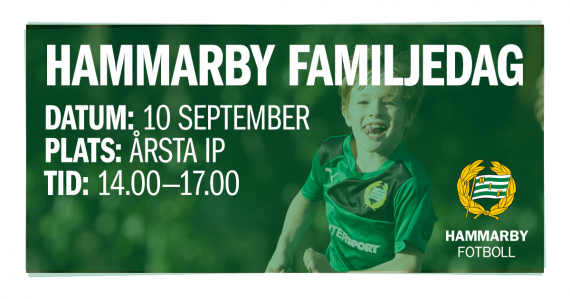 Hammarby Familjedag Facebook.