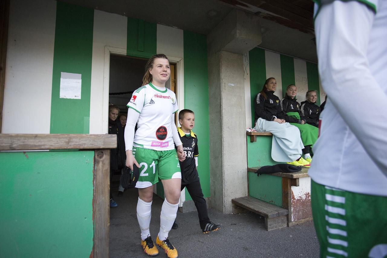 20160426 - Hammarby Damfotboll vs AIK  1 - 0