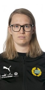 180321 Hammarbys lagledare Ida Ahlberg poserar fšr ett portrŠtt den 21 mars 2018 i Stockholm. Foto: Pelle Bšrjesson / Idrottsfoto / BILDBYRN / COP 205