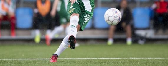 1706044 Hammarbys Filippa Angeldahl under fotbollsmatchen i Damallsvenskan mellan Kopparbergs Gšteborg FC och Hammarby den 4 juni 2017 i Gšteborg. Foto: Michael Erichsen / BILDBYRN / Cop 89