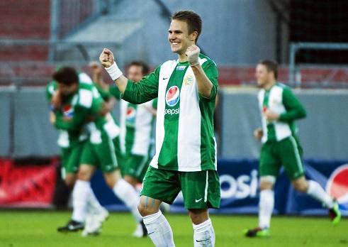 Robin jublar i cupen (Foto: Bildbyrån)