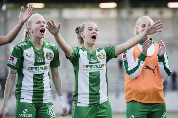 Fotboll, Damallsvenskan, Hammarby - Vittsjš