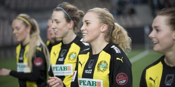 20180113 - HJK vs Hammarby Damfotboll  0 - 1
