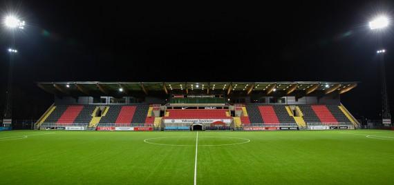 171109 Generell vy šver Grimsta IP infšr finalen i U21 Allsvenskan mellan DjurgŒrden och Elfsborg den 9 November 2017 i Stockholm.  Foto: Andreas Sandstršm / BILDBYRN / Cop 104