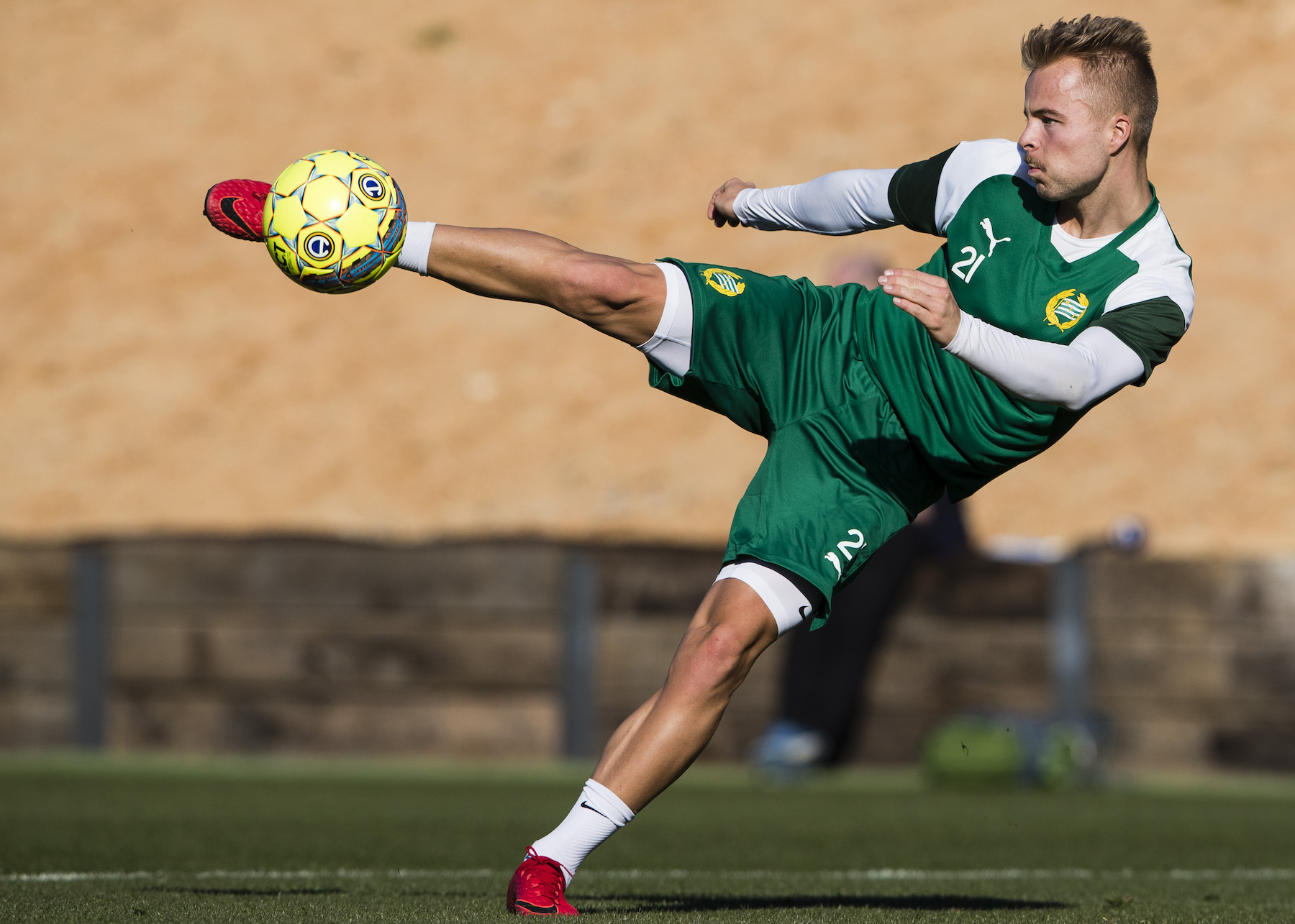 Fotboll, Allsvenskan, Hammarby, Träningsläger