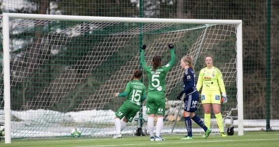 20180324 - Hammarby Damfotboll vs Kvarnsveden  2 - 1