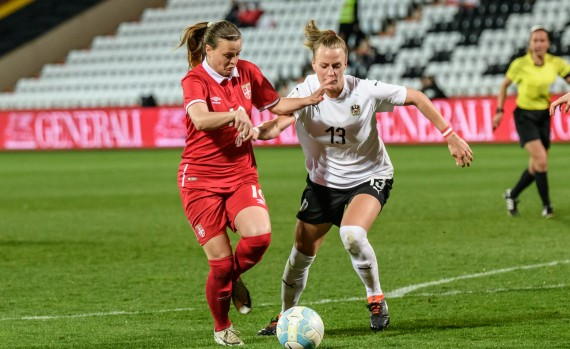 FIFA Women's World Cup Qualification AUT-SRB Mijatovic Kirchberg