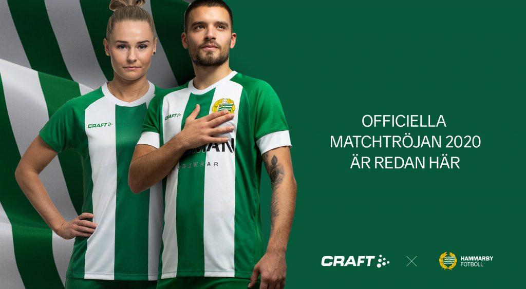 Hammarby Fotboll och Craft lanserar nästa års matchtröja